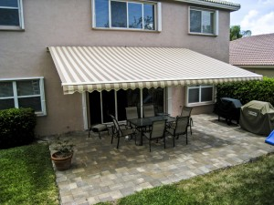 Exceptional Having An Awning Installed Over A Patio Or Other Space Outside Your Home Is  The Ideal Way To Enhance Your Outdoor Living Area U2013 Especially When You  Choose ...