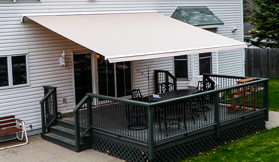 Electric Patio Awnings Systems For Home Sunesta