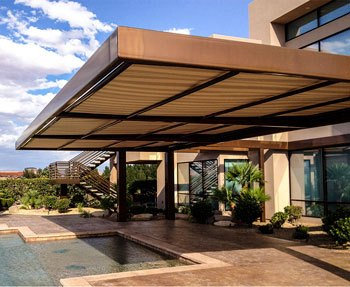 Retractable Awnings Screens Patio Awning Sunesta