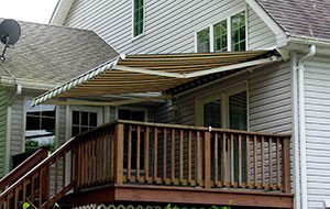 Power awning
