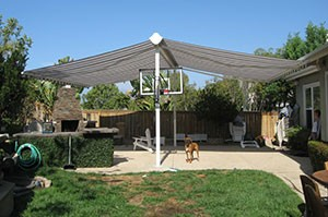 Lovely Backyard Canopy