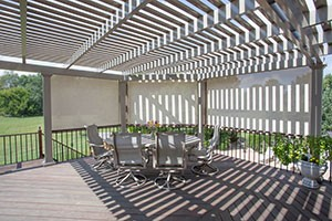Patio Shade Screen