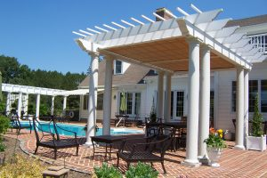 What is a Pergola with a Roof?