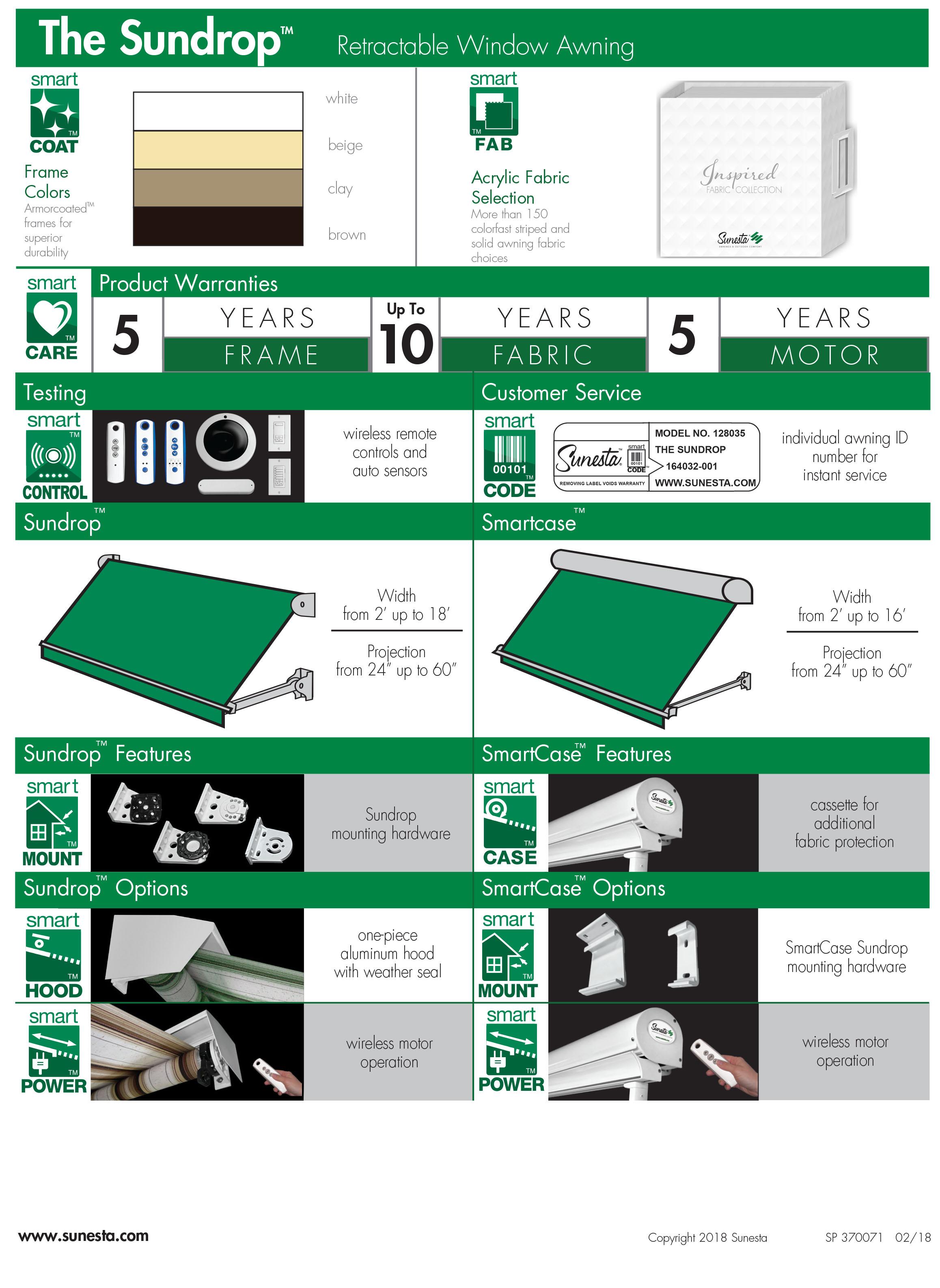Sundrop Product Information Sheet