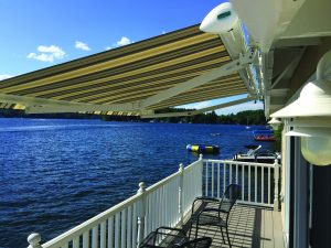 Roof Mounted Retractable Awning, Custom-Made Awnings | Sunesta