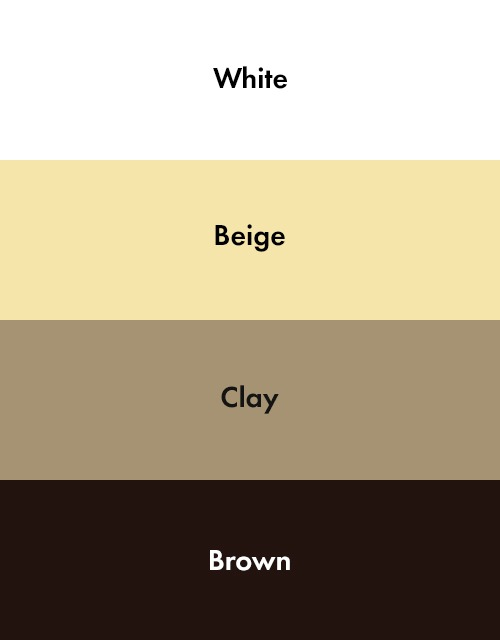 The Shadeside Color Chart